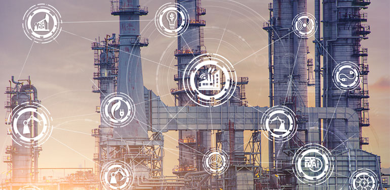 Industrial Internet of Things Power Plant