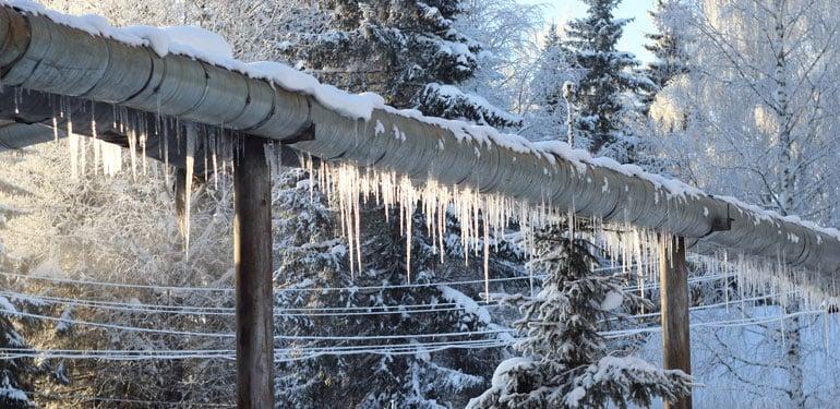 Freezing Pipeline