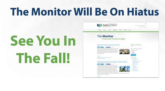 The Monitor Will be On Hiatus