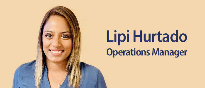 Lipi Hurtado Operations Manager