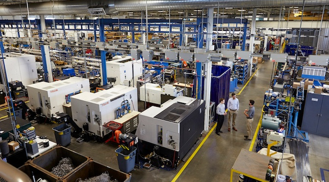 Sentry Equipment featured in Manufacturing Today magazine